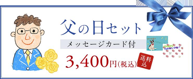 父の日セット 2980円